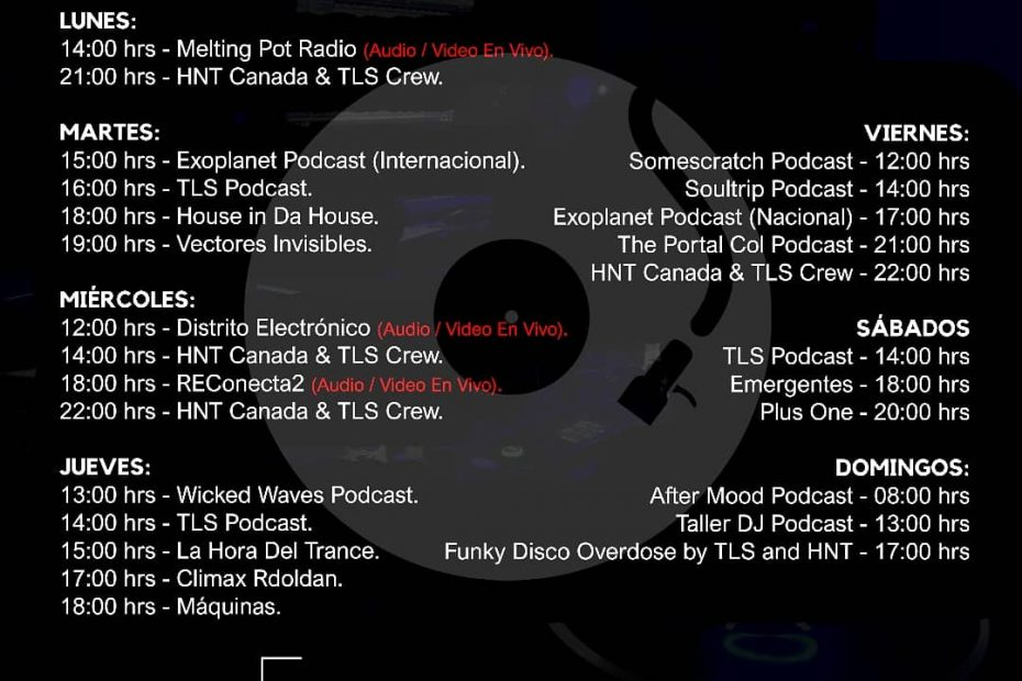 programacion-rec-radio-electronica-colombiana